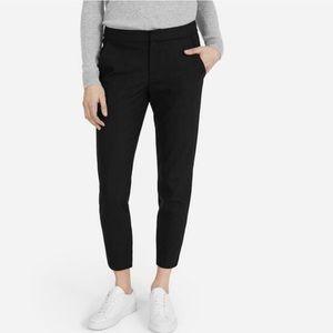 Everlane slim skinny trouser black pants career